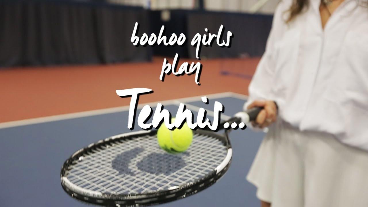boohoo Girls Play Tennis