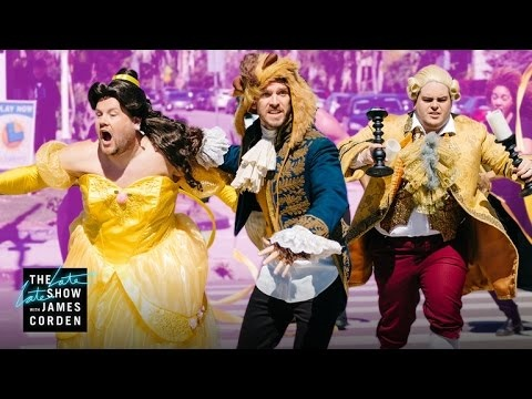 James Corden Does Beauty And The Beast