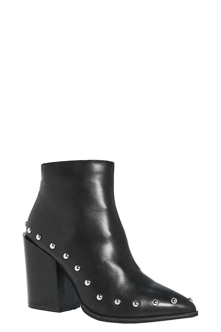 Katie Studded Trim Boots >