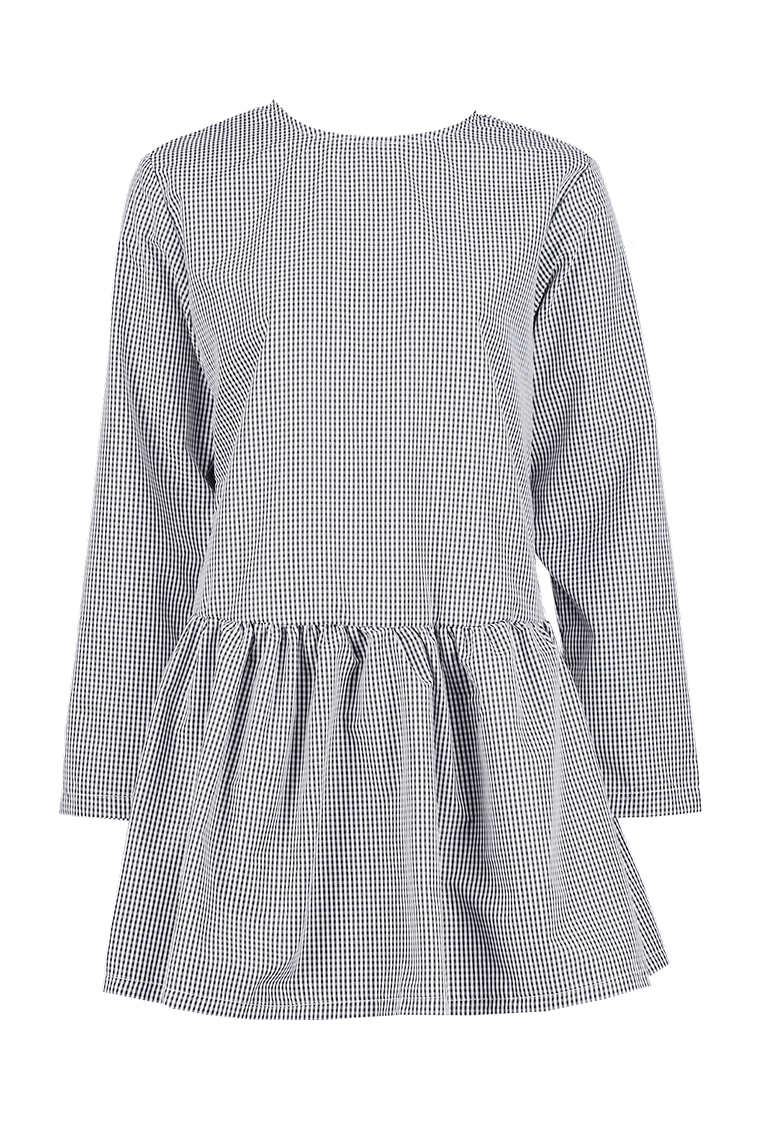 Hebe Gingham Dress >