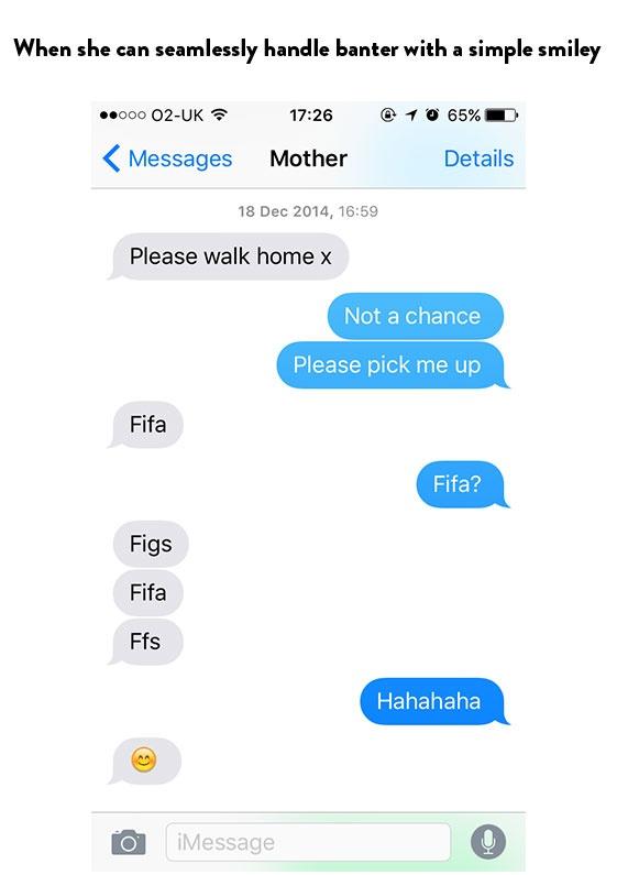 LOL Txts From Ur Mum