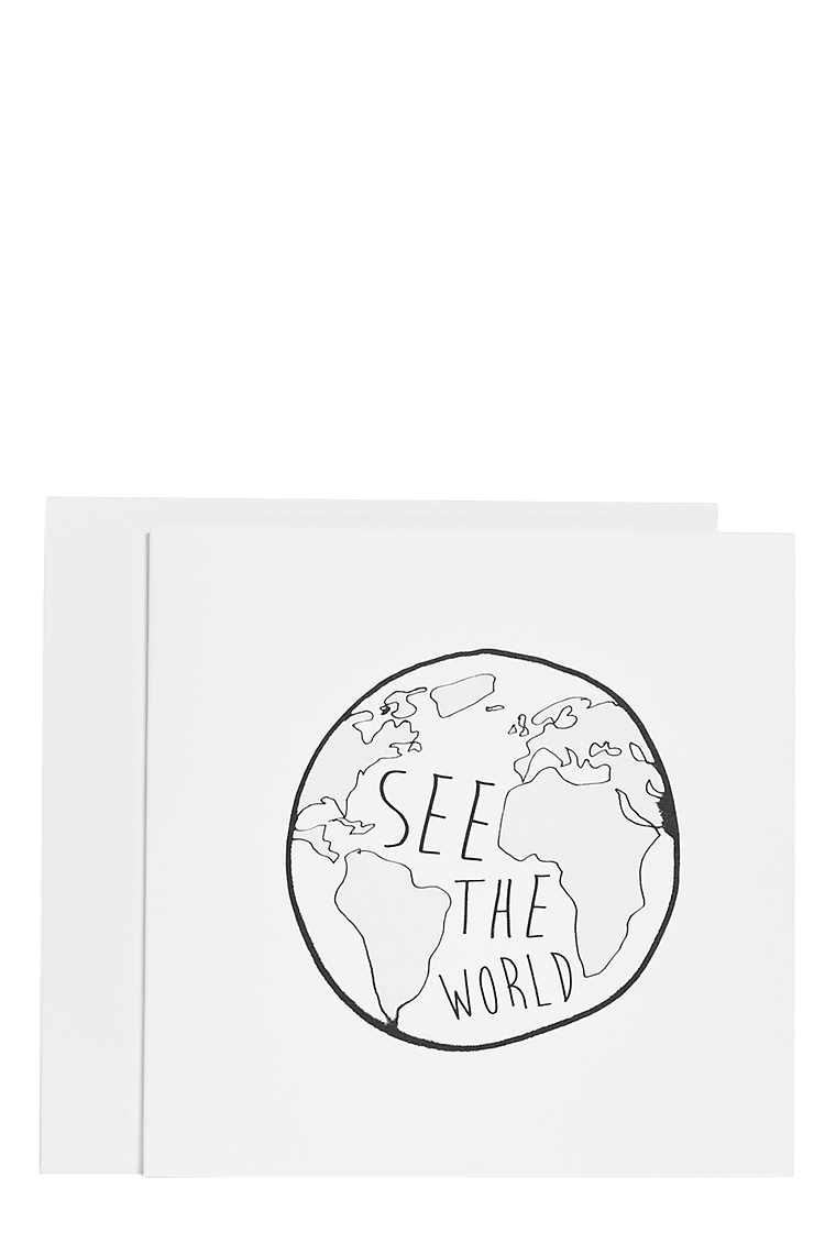 See The World Card