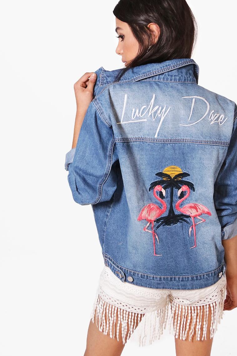 Sofie Flamingo Jacket >